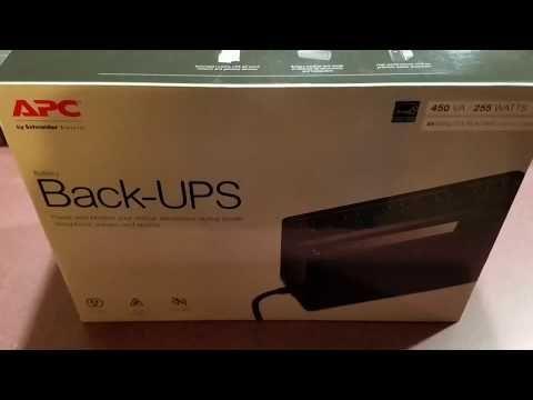 Apc Ups 450 Battery  VIDEO : apc back-ups mini review model