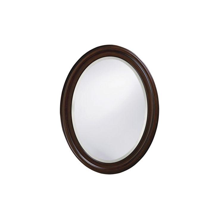 Howard Elliott - George Chocolate Brown Mirror, Chocolate Heather