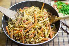 Fiery Dragon Noodles | Quick, Easy, Healthy, Delish!