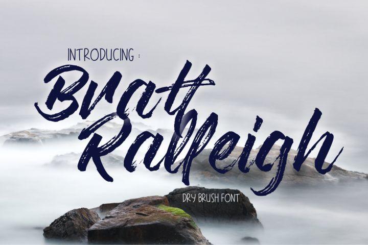 Bratt Ralleigh from FontBundles.net