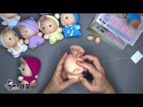 How to Make a Handmade Doll / Cloth Doll - Blue Whimsy Ballerina Part 1/3 - YouTube