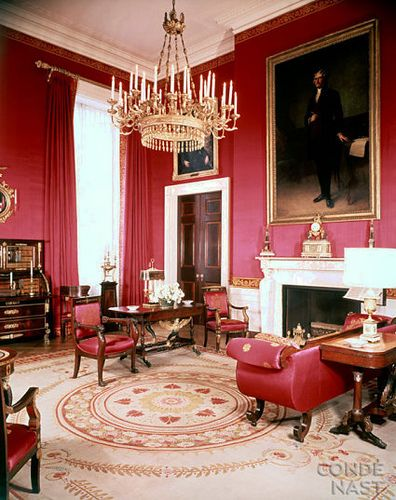Pic 1 Of 3 ~ The White House Interior ~ The Red Drawing Room Part 50