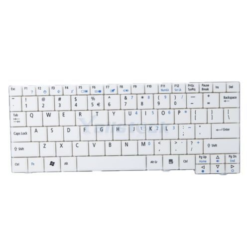 New Keyboard for Acer Aspire One AEZG5R00010 ZG5 A110 US White