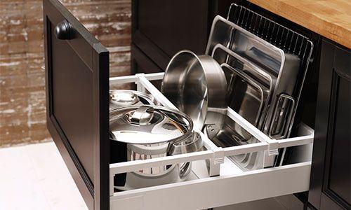17 meilleures id es propos de s parateurs pour tiroirs - Organiseur de tiroir cuisine ...