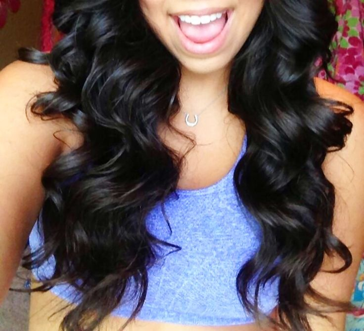Admirable 1000 Ideas About 1 Inch Curling Iron On Pinterest Brushed Out Hairstyle Inspiration Daily Dogsangcom