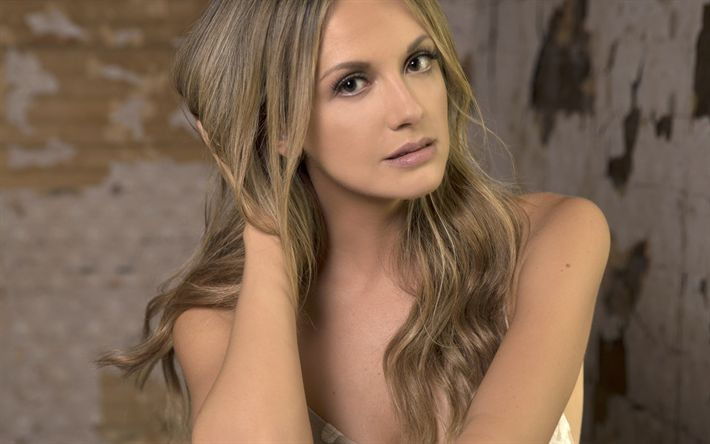 Download wallpapers 4k, Carly Pearce, 2018, american singer, photoshoot, beauty, blonde, country music