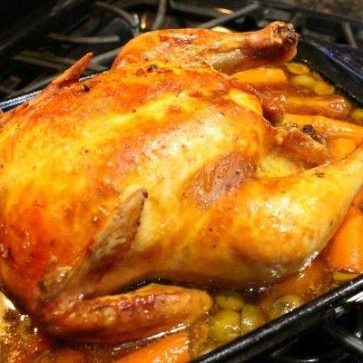 Receta: Pollo Borracho Navideño Venezolano al Horno