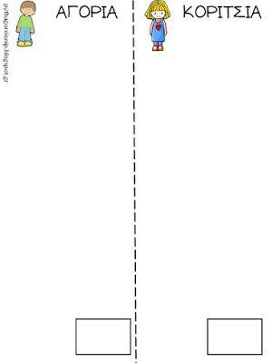 Πυθαγόρειο Νηπιαγωγείο: Πίνακας για τη ρουτίνα του κροκόδειλου