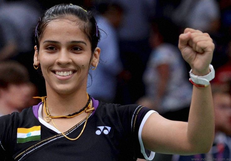 #3 The famous person I look up to is Saina Nehwal, she is the world's #1 badminton player.   I look up to her because coming from India and a middle class family she made her name big in the sports industry with just hard work. I'm not really a person of sports but I am just a fan of her hard work and dedication.