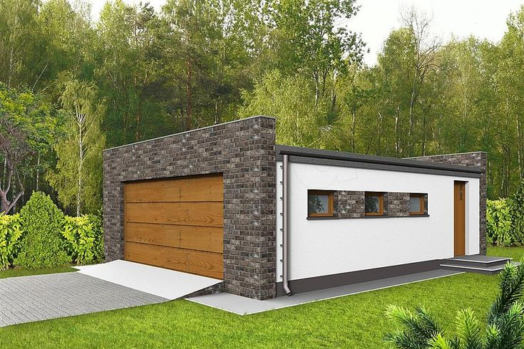 projekt Garaż G10 WRF1514