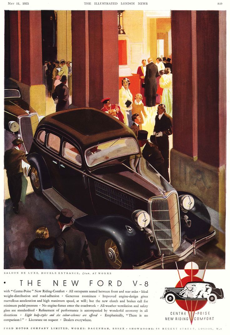 9 best Famous Car Adverts From 1920-1950 images on Pinterest ...