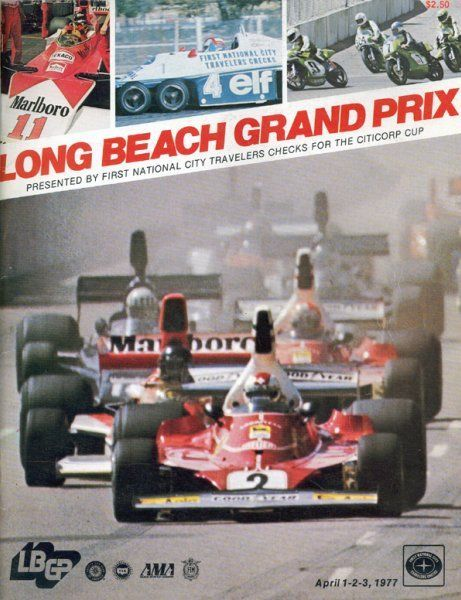 marioandretti a 1977 long beach gp program cover back in the day f1 speedf1 f1chat. Black Bedroom Furniture Sets. Home Design Ideas