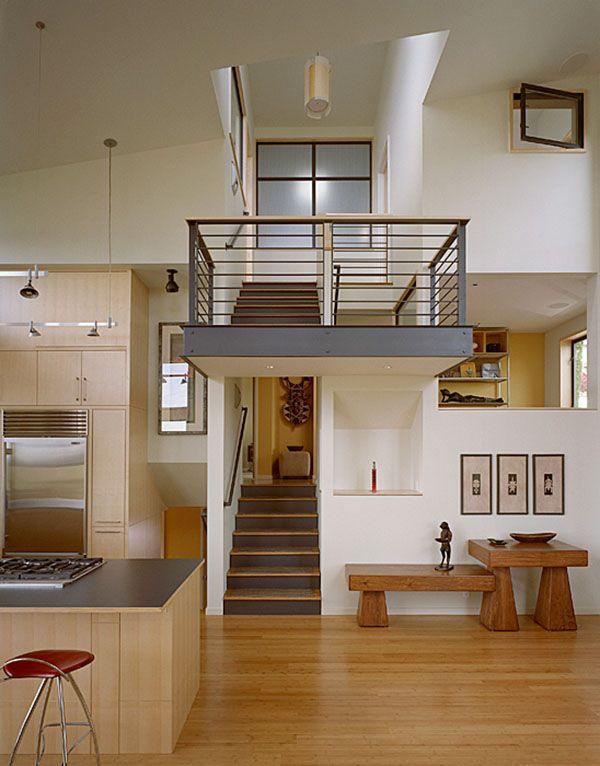 25 beste idee n over split level keuken op pinterest verhoogde bungalow keuken split - Binnenkomst ideeen ...