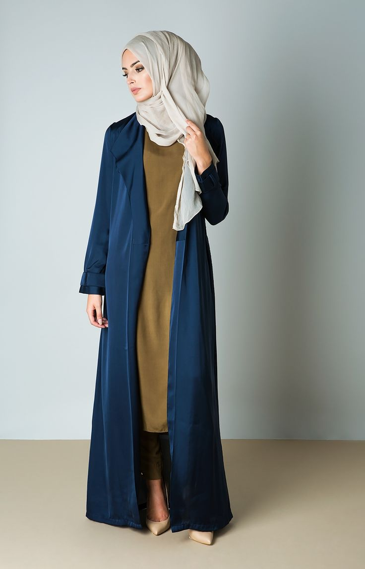 Trench Cover Up - Navy