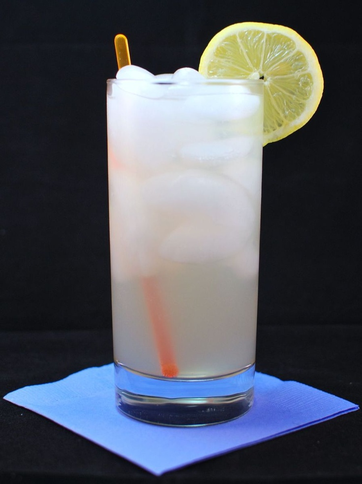 Pellegrino Limonata with vodka - incredibly simple and delicious summer cocktail