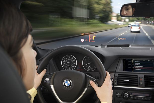 Finally a head up display for all cars.  The Garmin Head-Up Display (HUD)!