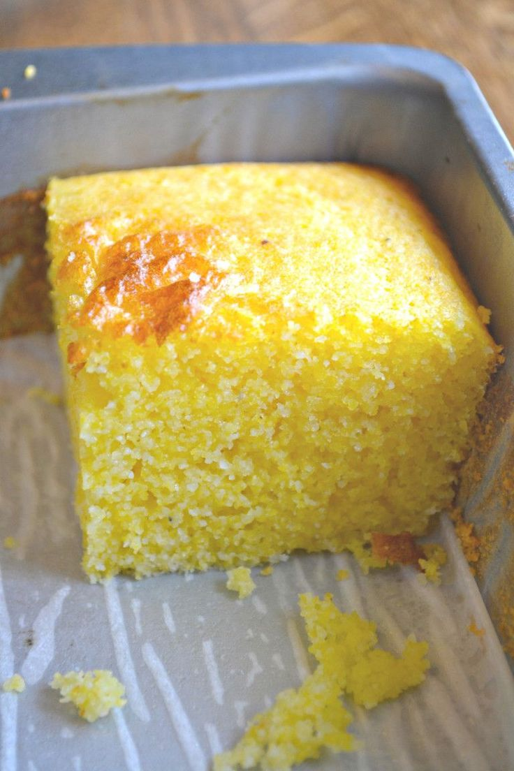 Coconut Oil Cornbread #glutenfree (GF)