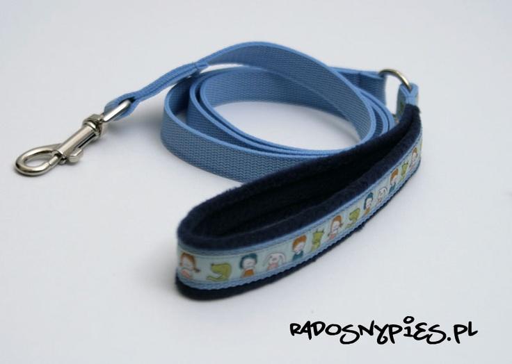 Polar handmade dog leash