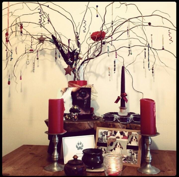 Beautiful Ancestor Altar.