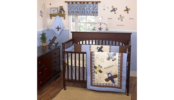 CoCo & Company Zoom Along Crib Collection.