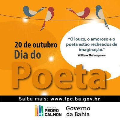 Poeta Hei de Ser®: Dia do Poeta (parte II)