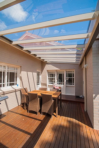 Pergolas decks opening roofs and carport designs from for Sunroom extensions sydney