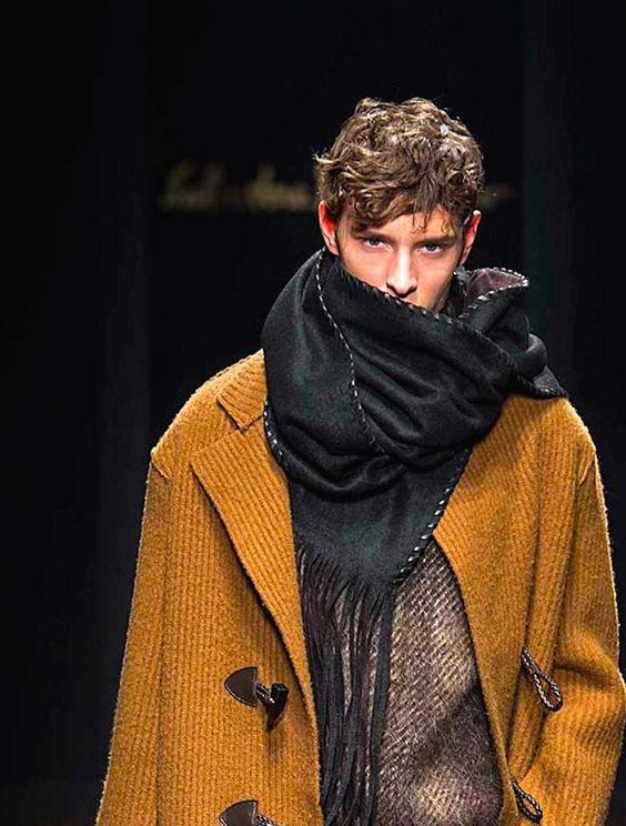9 besten Mens Scarf Fashion Bilder auf Pinterest | Schals, Männer ...