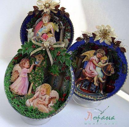 Интерьерные шары. - новогодние подарки,новогодний сувенир,новогодний интерьер