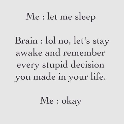 An authors brain at 3am, insert novel ideas into the decision.