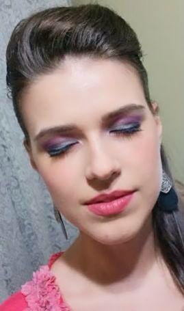 Faça roxo com cinza #vaidosasdebatom #vaidosas #batom #blog #blogger #blogger …