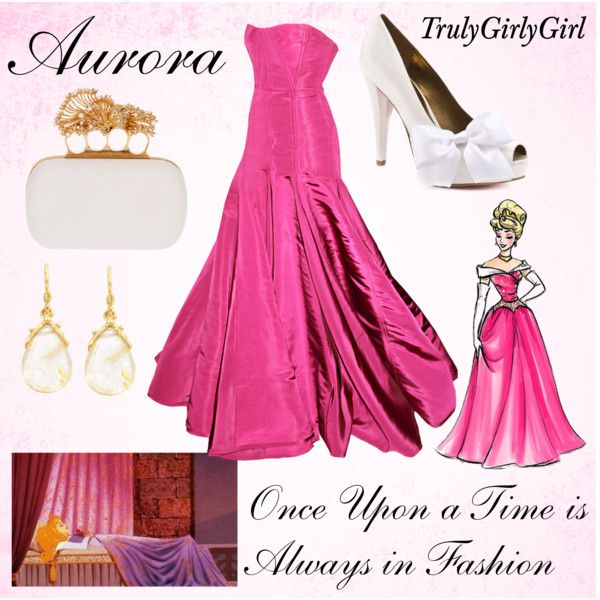 Disney Style: Aurora (Disney Princess Designer Collection), created by trulygirlygirl on Polyvore