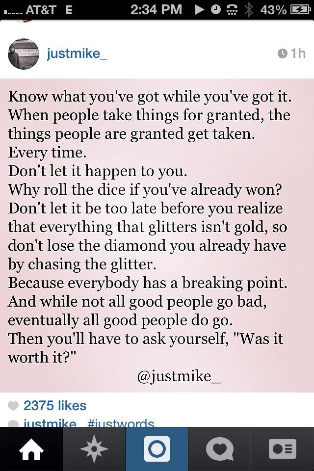 Just Words -Mike Reid #justmike
