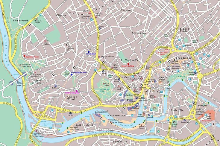 Mapa de Bristol