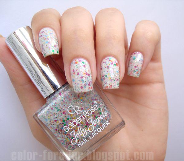 Zweiter Geburtstag des Blogs Golden Rose Jolly Jewels 115   – My nail polishes