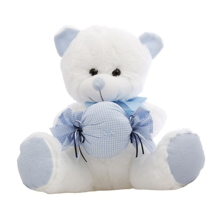 As sweet as they come and as cuddly as can be, this gift set is perfect for a new baby. #NewBaby #TeddyBear