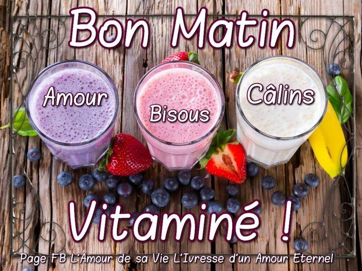 Bon Matin Vitaminé ! Amour, Bisous, Calins