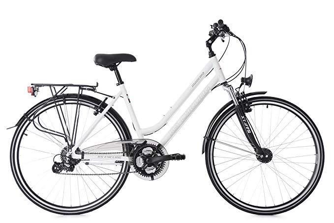 Ks Cycling Damen Trekkingrad 28 Madeira Rh 48 Cm Fahrrad Weiss 28