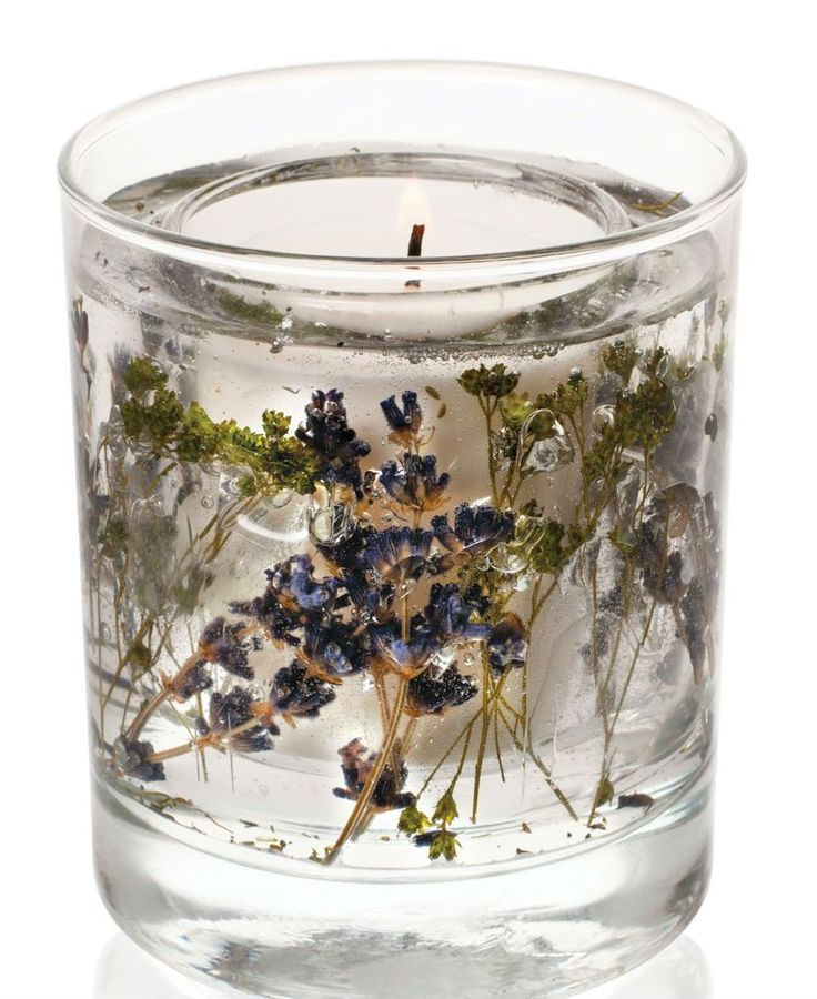 Ароматическая свеча Лавандовый сад от Stoneglow