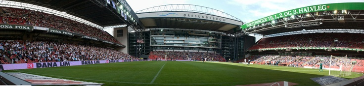PARKEN - The home of FC København and the danish national football team
