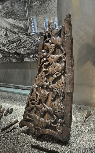 Grave goods from the oseberg ship burial norway by