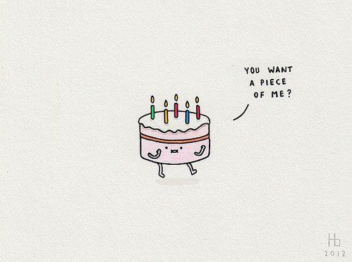 when birthday cakes go bad