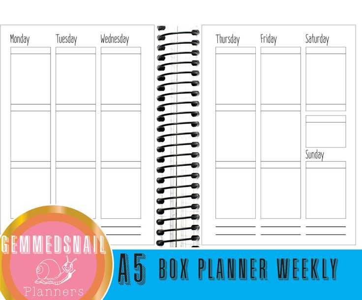 Printable planner pages, A5 inserts for vertical planners, box planner pages fits Erin Condren Stickers