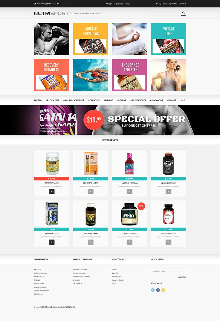 There is no doubt that our Magento templates will be very successful investment - you won't be disappointed. www.titantemplates.com