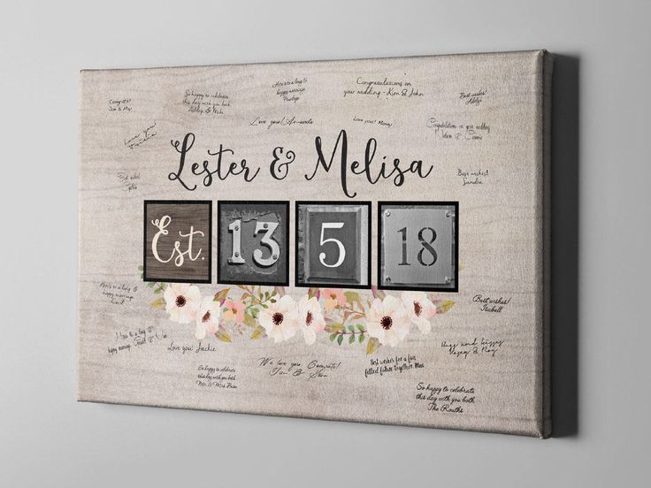 SALE 50% Off Canvas Guest Book, Whimsical Floral Wood Signature Guest Book, Wedding Decor Keepsake Art, Anniversary Gift for Couples - CGB78 by VintageBellsAndCo on Etsy https://www.etsy.com/listing/517989253/sale-50-off-canvas-guest-book-whimsical