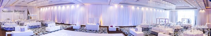 Wedding draping rental in Miami. Pipe and drape rental in Miami and South Florida.