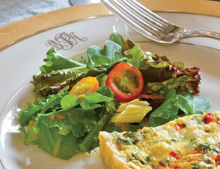 Check out Green Salad with Sherry-Shallot Vinaigrette. It's so easy to ...