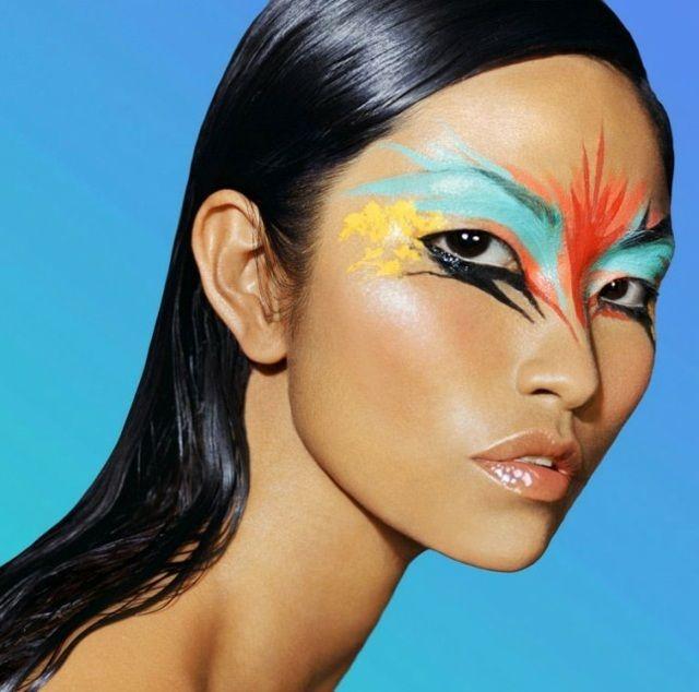 Super Les 25 meilleures idées de la catégorie Maquillage halloween femme  PK85