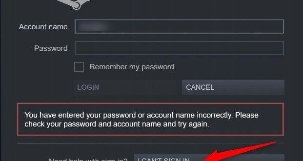 Steam Forgot Password Computer Problems Problem And Solution Forgot Password