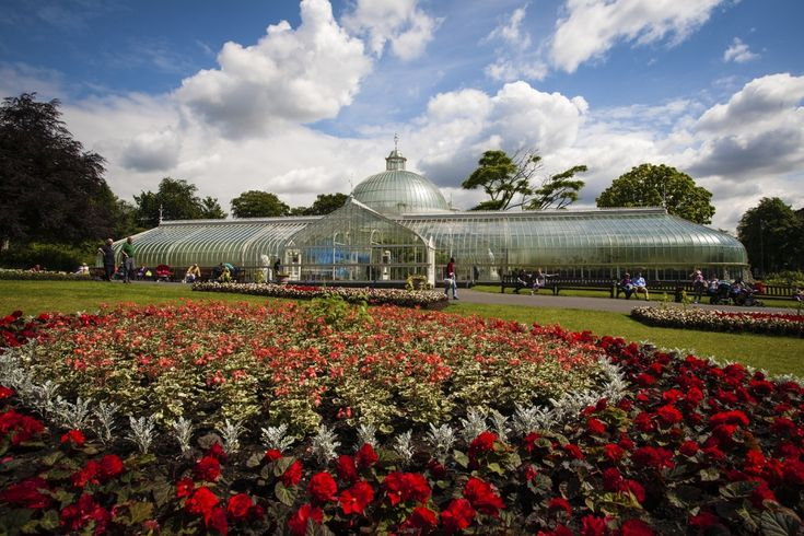 Glasgow Botanic Gardens is a beautiful setting for wedding photos, be it by the flowers or in the amazing hot houses. x