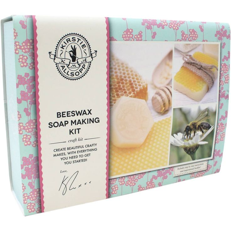Kirstie Allsopp Beeswax Soap Making Kit | Hobbycraft
